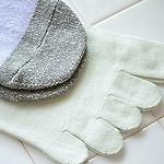 フェリシモの冷えとり靴下 タイプ別 素材感を比較!