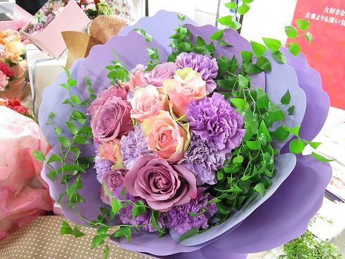 【母の日ギフト2012】お母さんに特別な思いを込めて贈りたい花束
