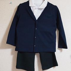 3歳(男児)の入園式 スーツじゃないけど、違和感ないコーディネイトを考察