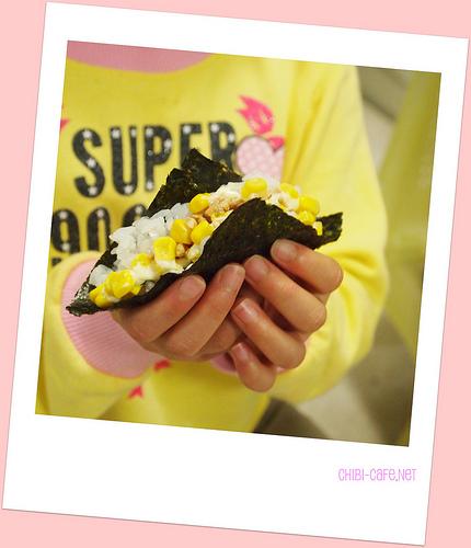 ひな祭りパーティー 手巻き寿司に使う具は錦糸たまご?