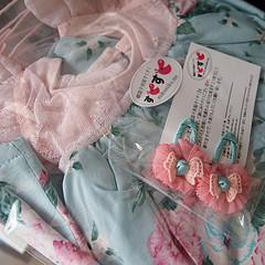 [韓国子供服] ナチュラル可愛いワンピースが届いた♪
