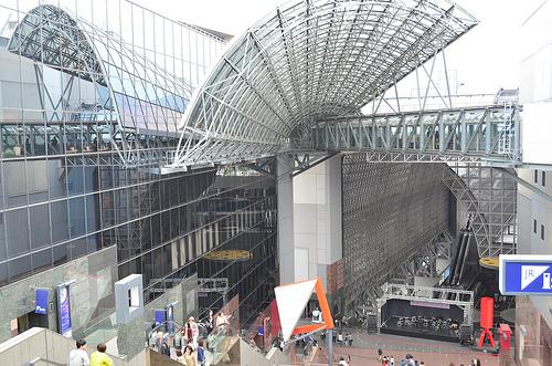 【京都たび】はじめての京都駅・京都タワーを見た