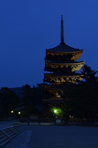 夜の奈良散策