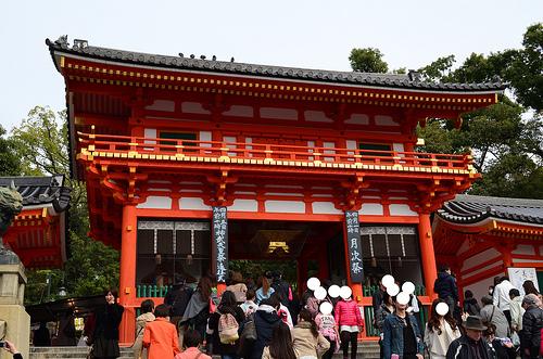 【京都たび】オトナ女子3人カメラ片手に八坂神社へ