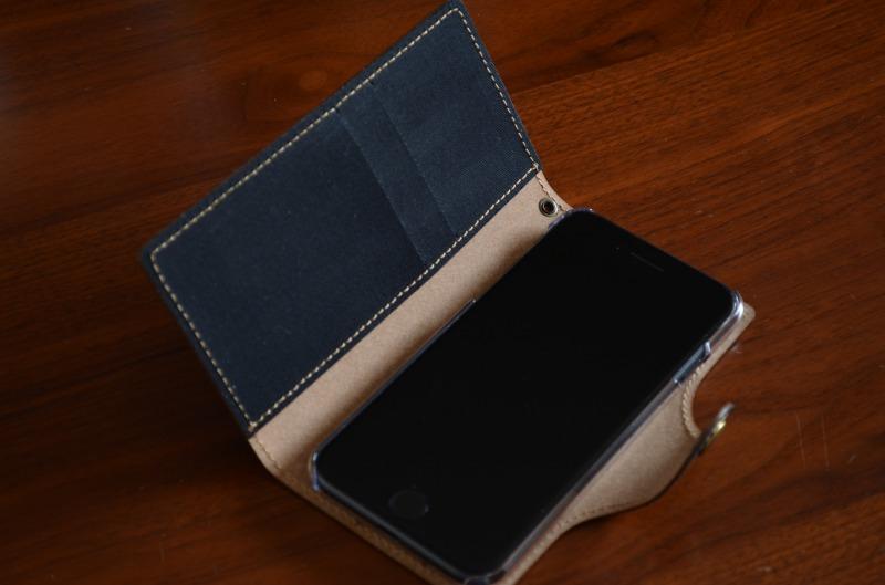 スマホカバー iPhone8をセット